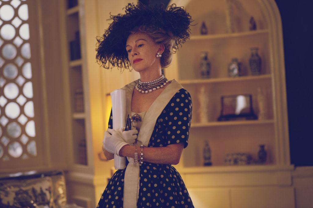 FEUD: BETTE & JOAN -- Pictured: Judy Davis as Hedda Hopper. CR: Suzanne Tenner/FX.