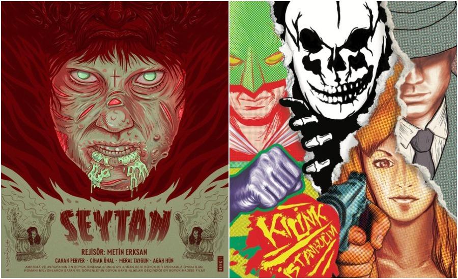 20 Classic Turkish B-Movies, Redesigned